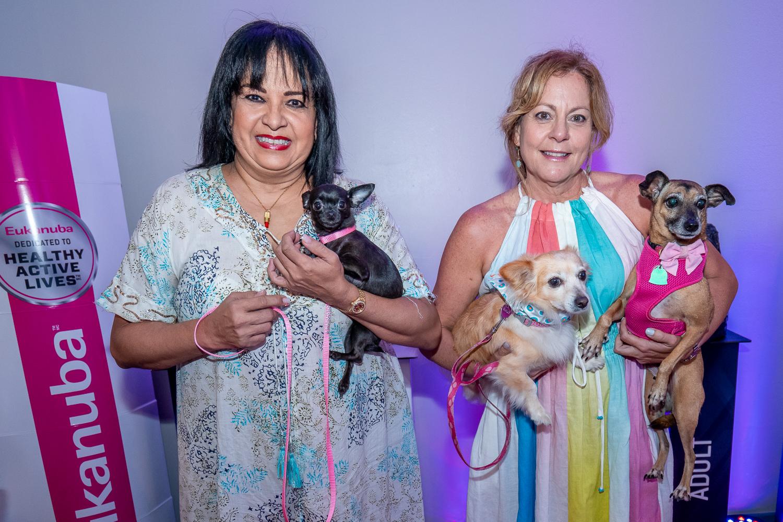 Belén Martínez Cabello con Beyonce y Lizette Díaz con Sully y Cali. (Suministrada)