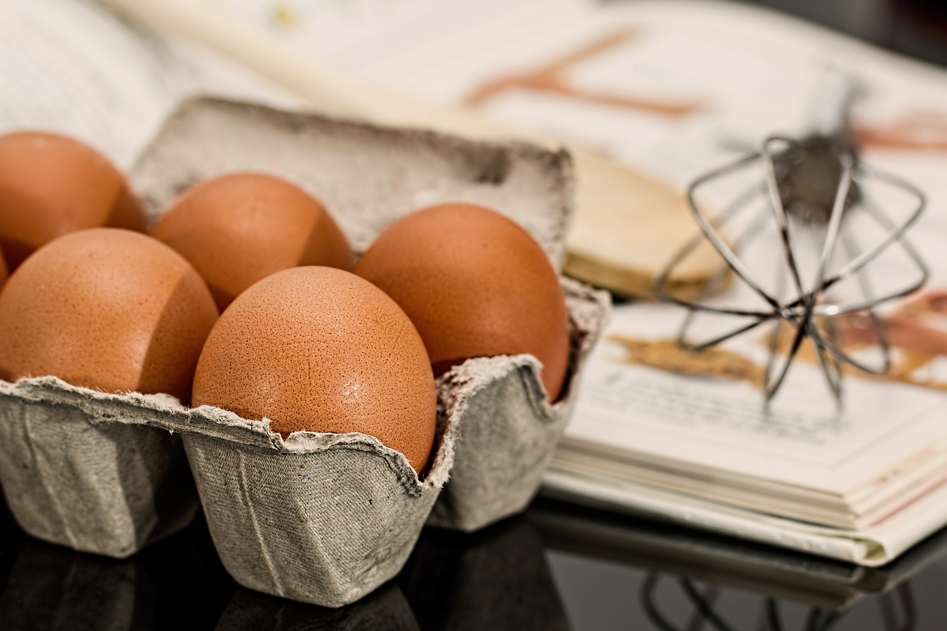 Los huevos son un alimento permitido en la dieta FODMAP. (Steve Buissinne / Pixabay)