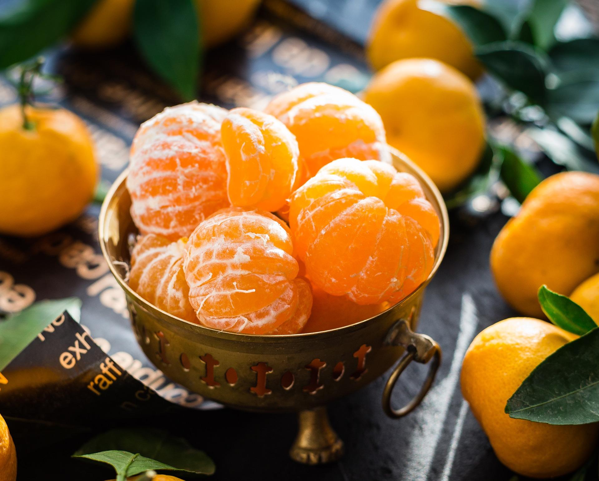 Las chinas mandarinas son un alimento permitido en la dieta FODMAP. (Дарья Яковлева / Pixabay)