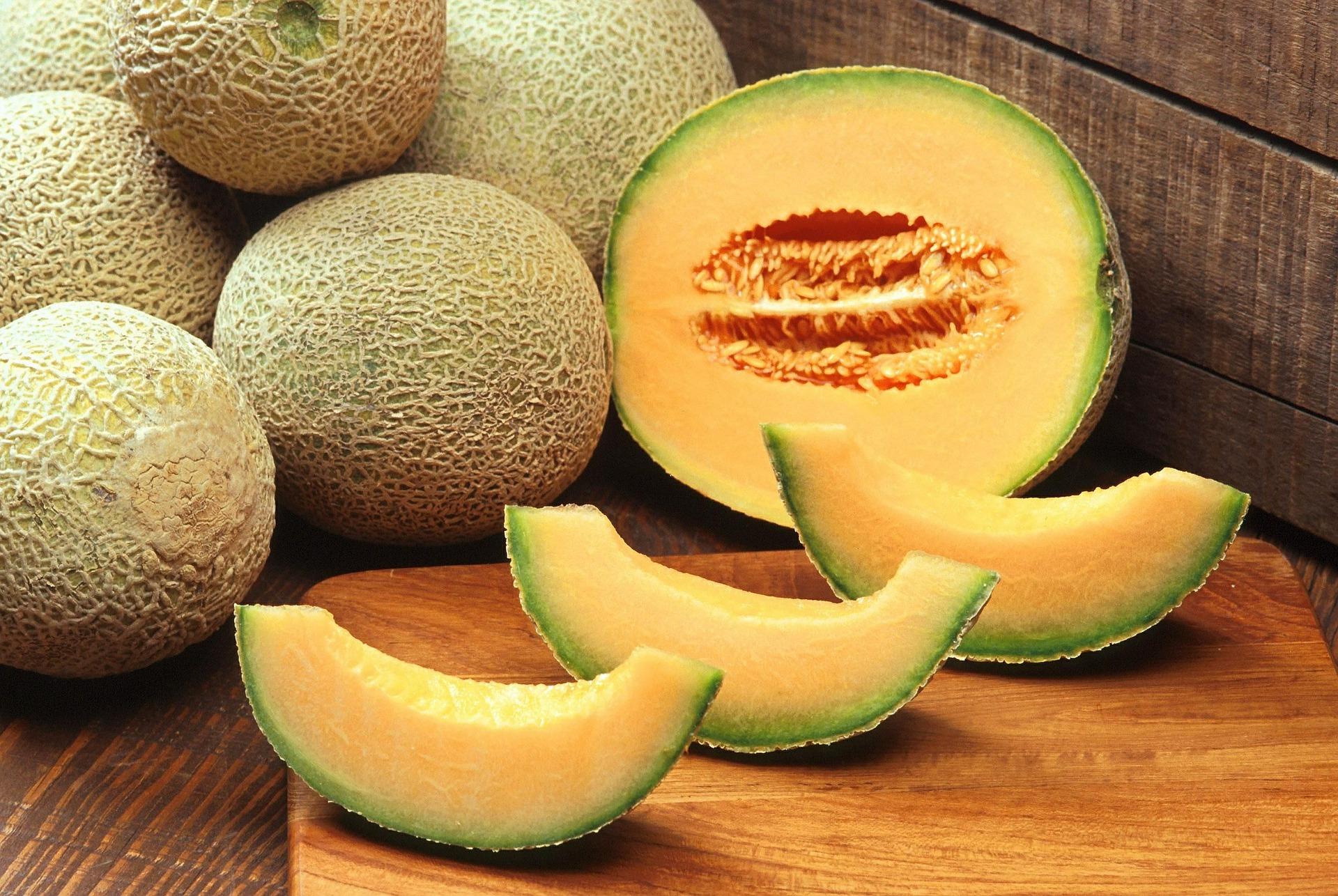 El melón cantalupo es un alimento permitido en la dieta FODMAP. (PublicDomainImages / Pixabay)