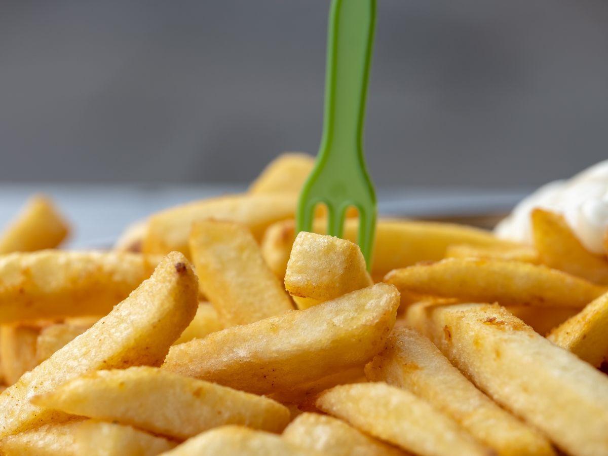 Razones para bajar el consumo de comida frita