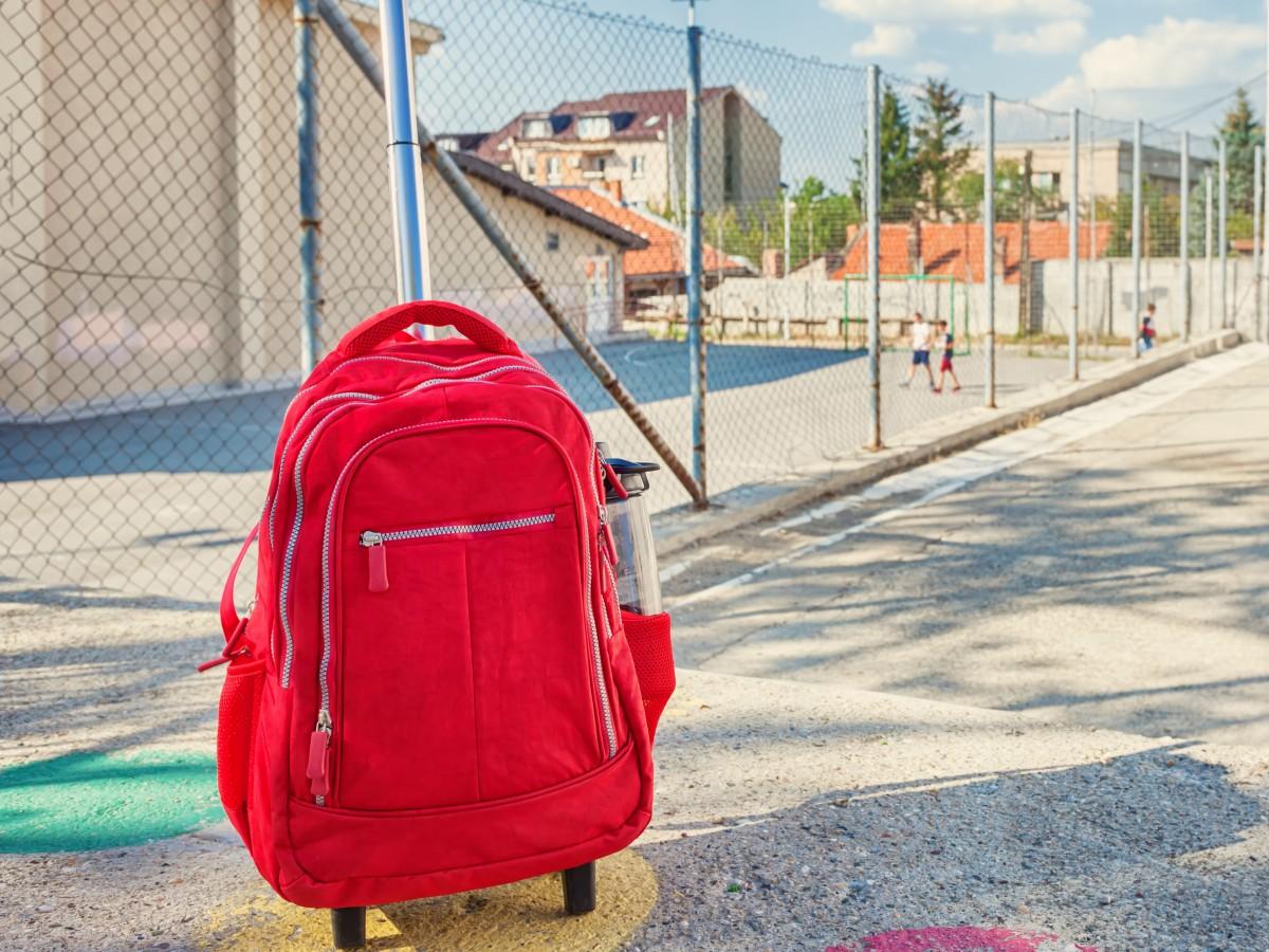 Las mochilas con ruedas también pueden afectar la postura de los niños