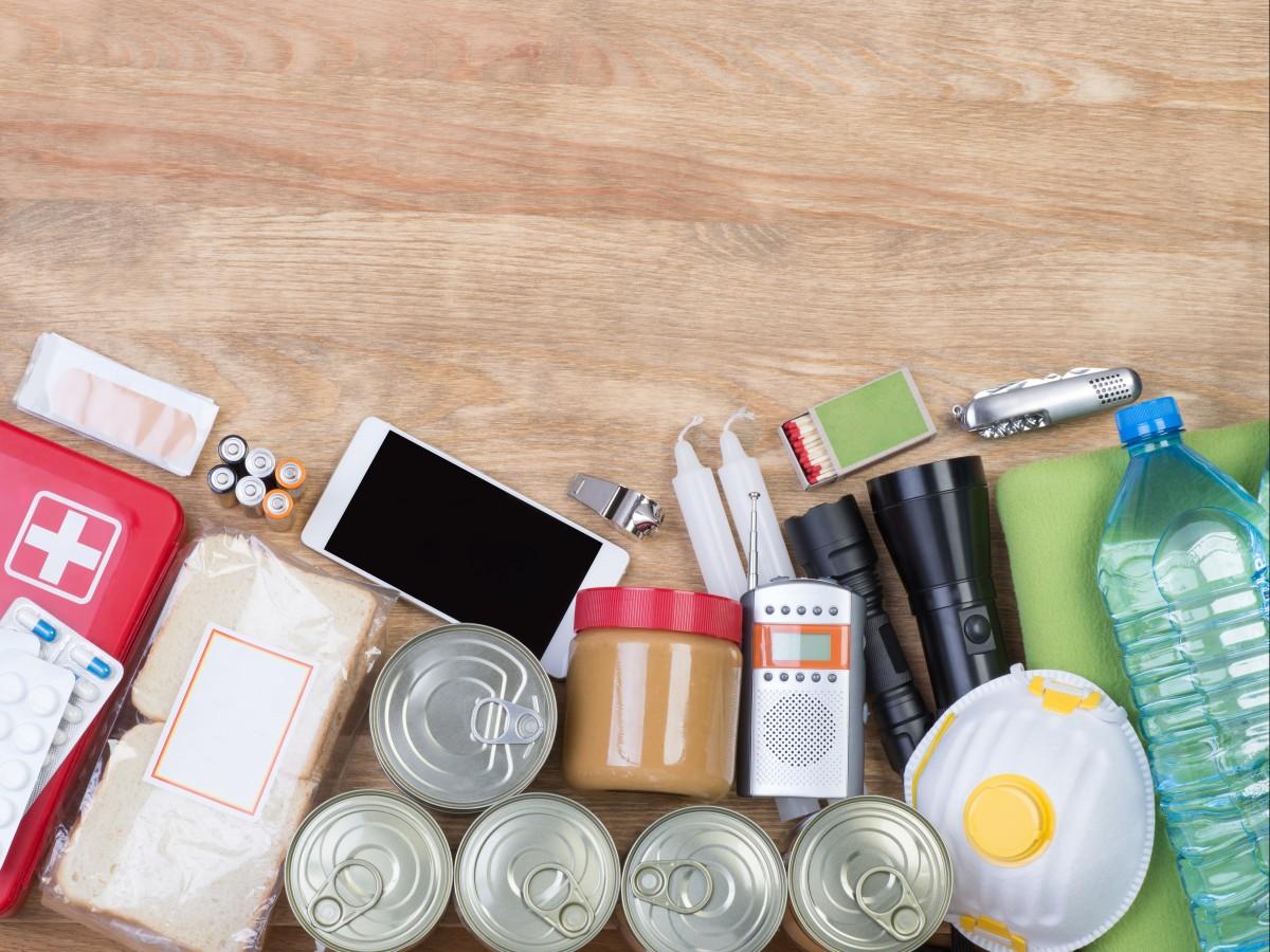 Alimentos para la mochila de emergencia