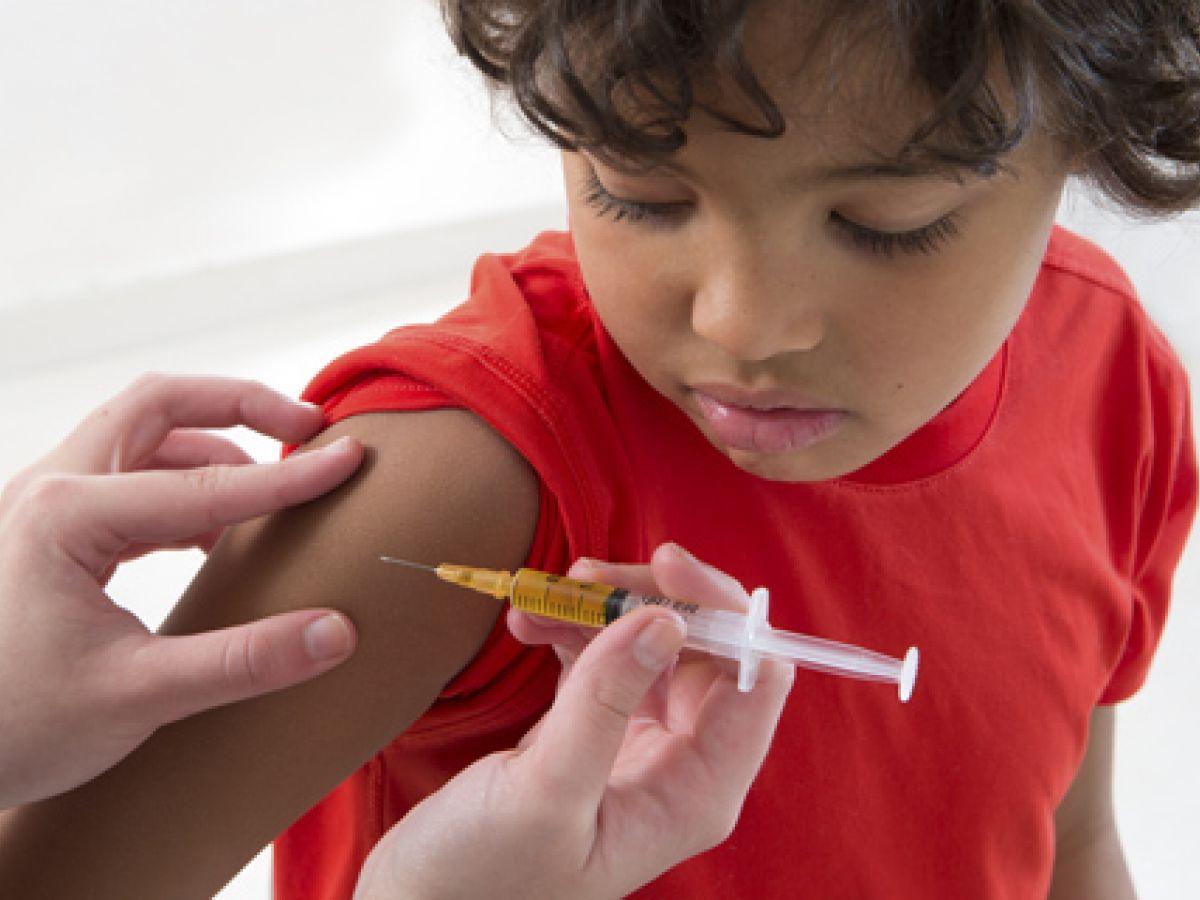 Uno de cada 10 niños no fue vacunado en 2016