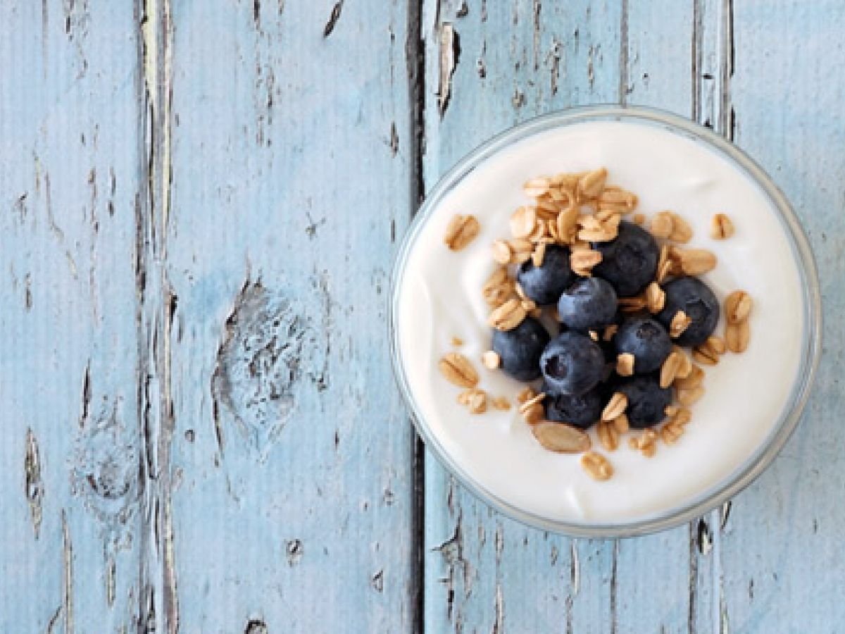 Yogur: proveedor de fibras
