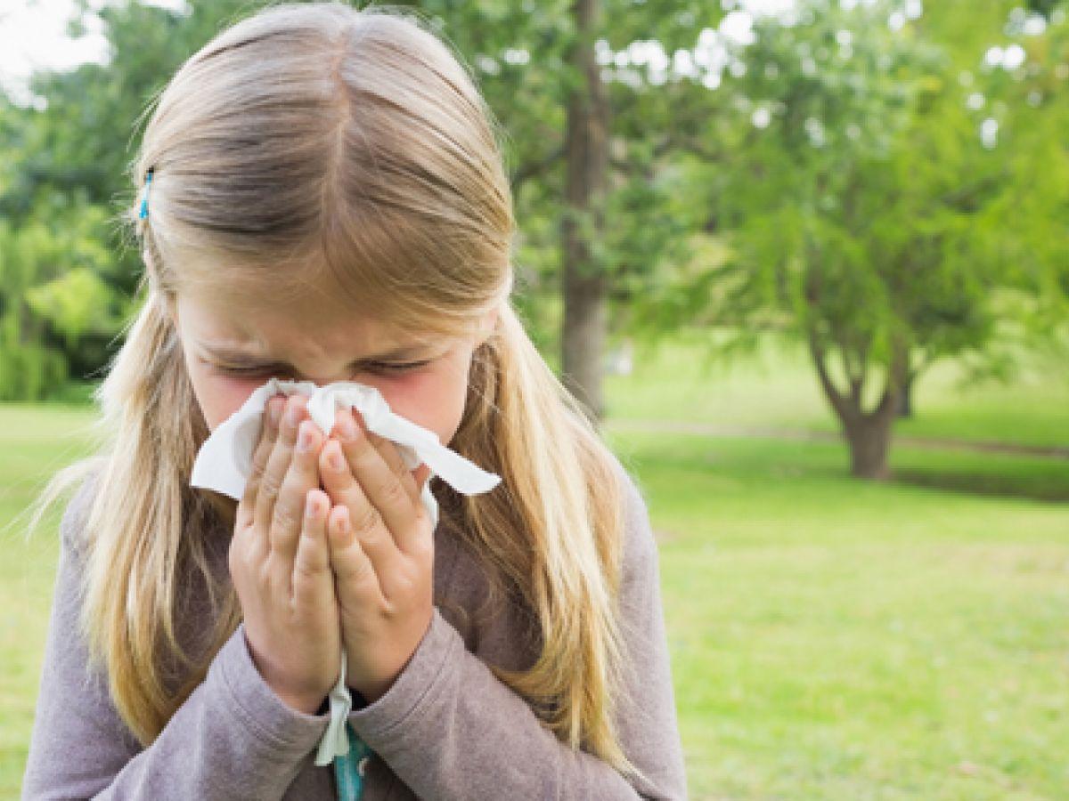Ciertos medicamentos aumentan las alergias en los niños