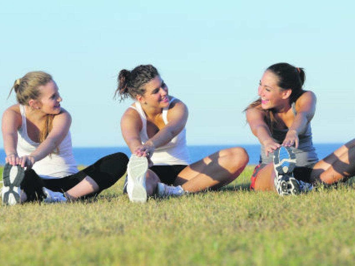 Ejercitarse en grupo es más beneficioso