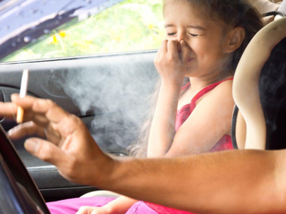 Niños expuestos a tabaco propensos a padecer trastornos respiratorios