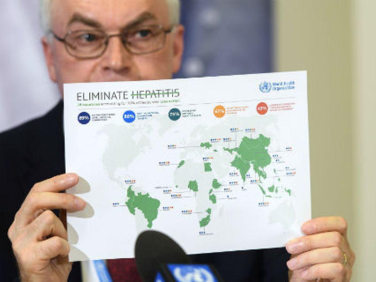 La OMS proyecta controlar la hepatitis para el 2030