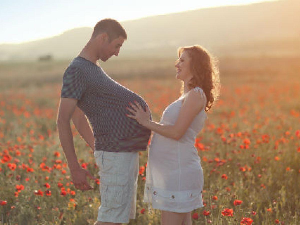 Los hombres también deben cuidarse antes de un embarazo