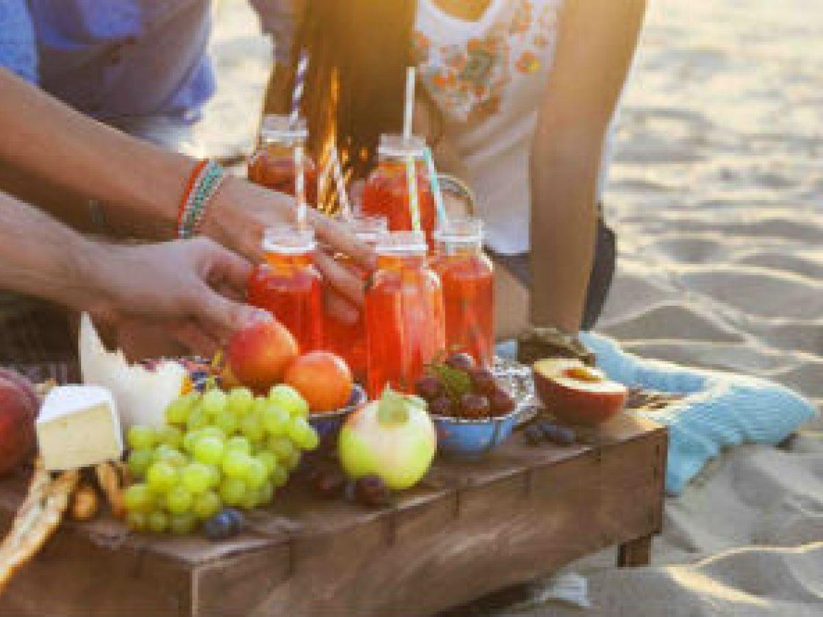 Meriendas saludables y seguras para disfrutar al aire libre