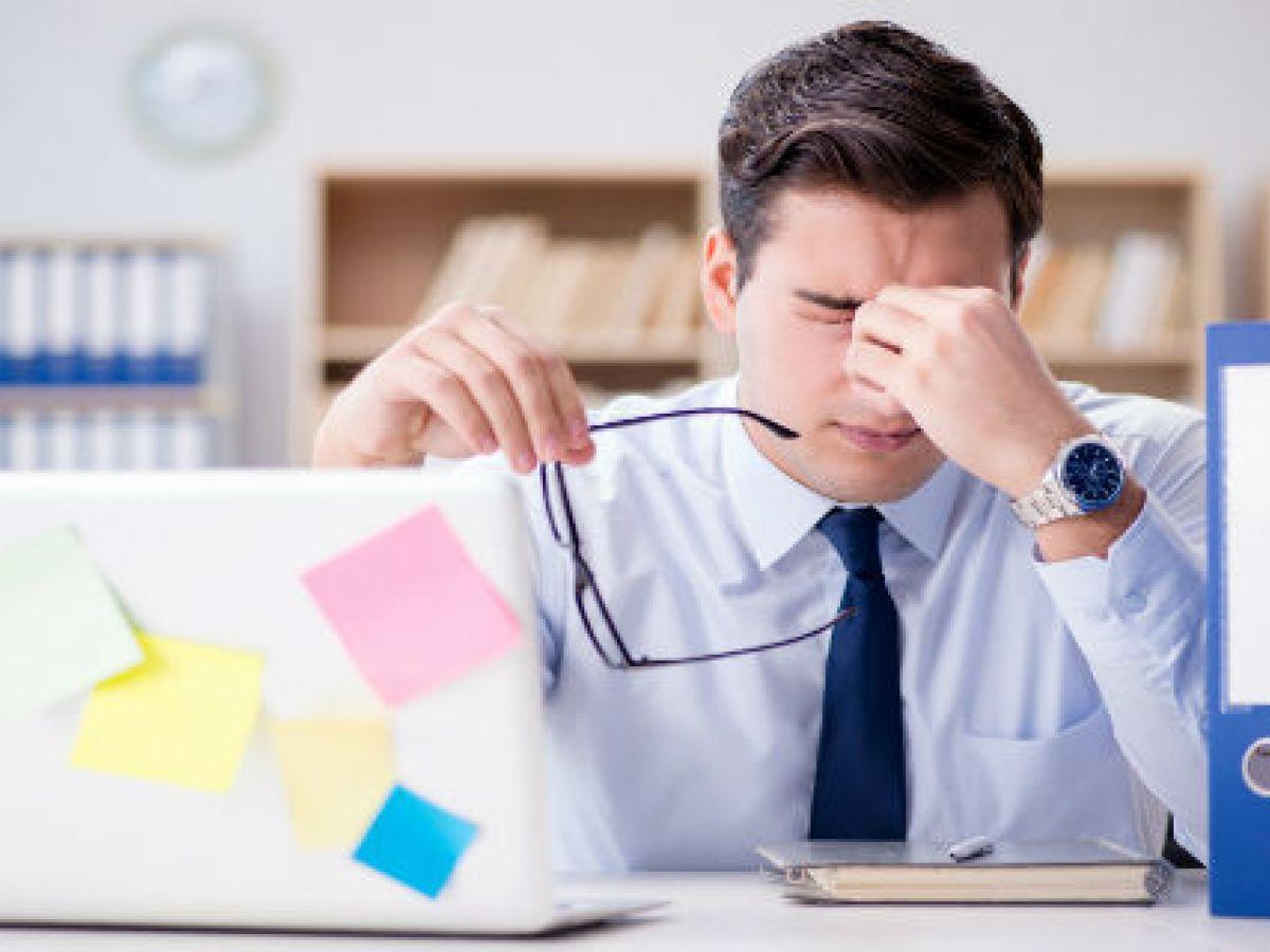 ¿Estás a punto de colapsar en el trabajo?