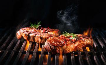 Las sustancias químicas en la carne cocinada a altas temperaturas
