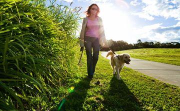 Caminar = más salud