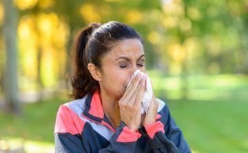 ¿Es perjudicial hacer ejercicios si estamos resfriados?