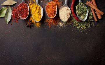 Cocina con especias para adelgazar