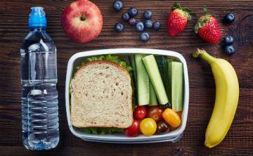 Prepara la lonchera saludable en 3 pasos