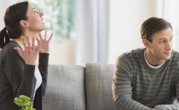 La razón por la que una pareja discute de más