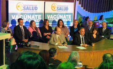 Departamento de Salud une esfuerzos para promover la vacunación contra la influenza