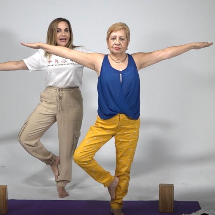 Fortalece tus huesos con el yoga